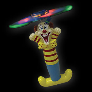 579-065 LED COMIC ROTOR CLOWN